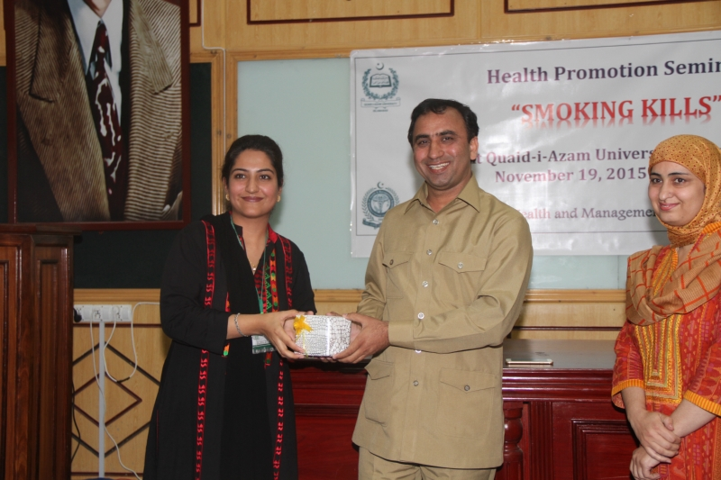 HEALTH PROMOTION SEMINAR QAU AND IHMS