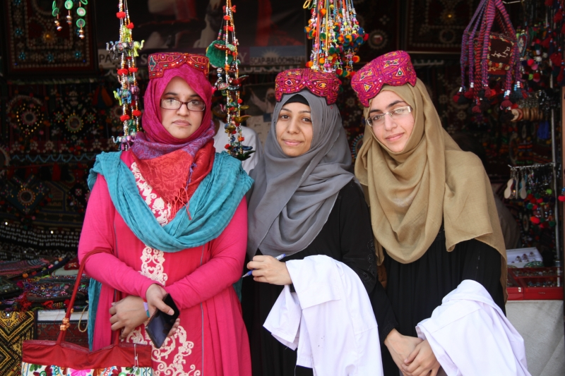 STUDENTS OF DPT VISIT TO LOK VIRSA